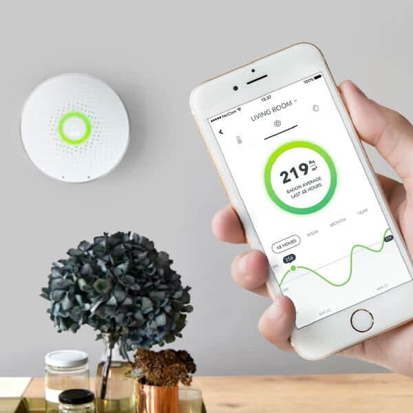 Airthings-Wave-radon-måler